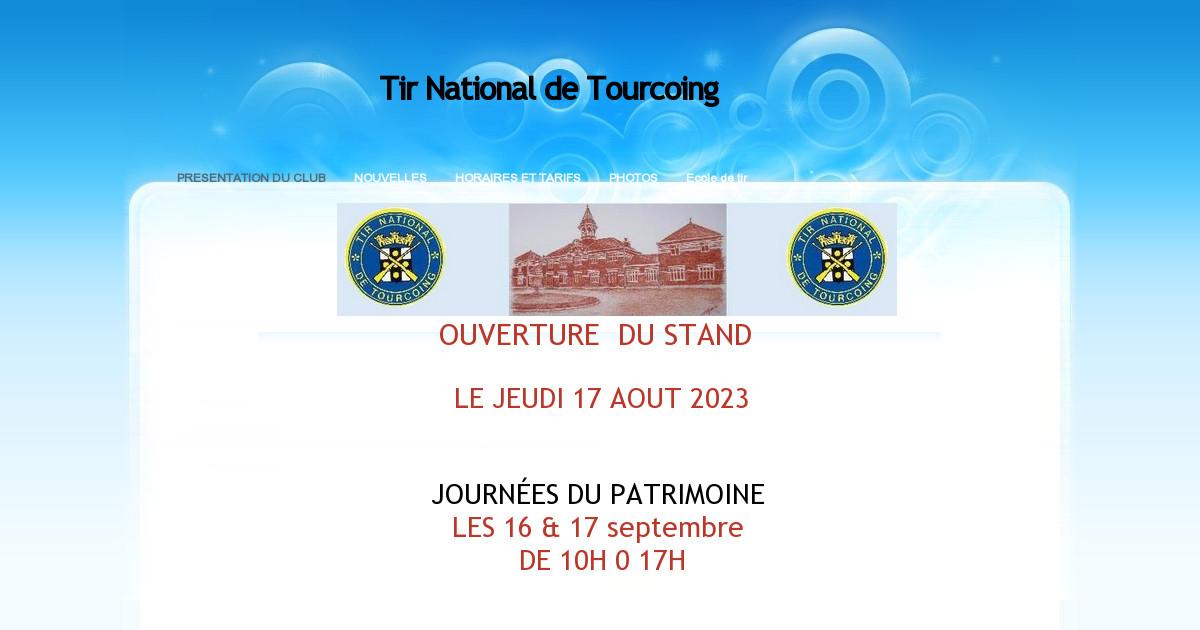 Tir national de tourcoing horaires et tarifs for Horaire kreabel tourcoing